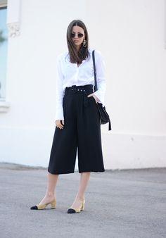 7 Ways To Style A White Button Down Shirt