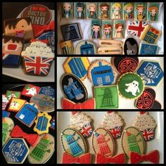 Dr Who cookies