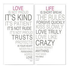 Love & Life Framed ll Print