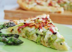 La pizza aux asperges vertes qui (d)étonne