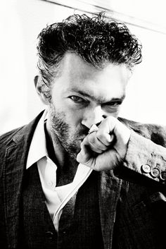 ☆ Vincent Cassel | Photography by Ellen von Unwerth | For Madame Figaro Magazine France | April 2010