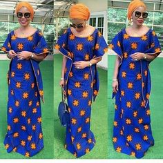 The complete pictures of latest ankara long gown styles of 2018 you've been searching for. These long ankara gown styles of 2018 are beautiful Ankara Long Gown Styles, Latest Ankara Styles, Ankara Gowns, Latest African Fashion Dresses, African Print Dresses, African Print Fashion, African Dress, Ankara Fashion, African Prints