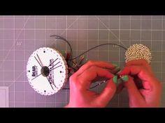 ▶ kumihimo bead - pulsera kumihimo con cuentas - YouTube