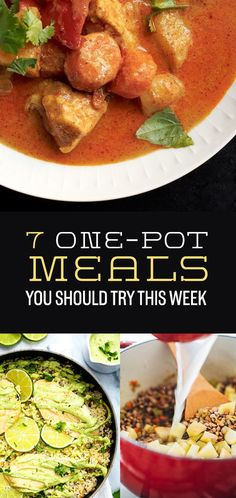 7 One-Pot Meals You Should Try This Week