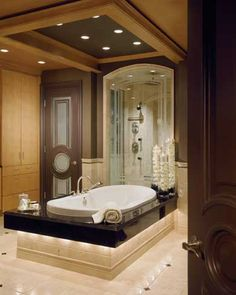 Luxury Master Bathroom  - all the conveniences you can dream off.