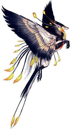 Winged Tropic Feonix by Tatchit on deviantART