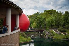 Parc La Fontaine, RedBall Montréal, Artist: Kurt Perschke, Photographer: Thomas Martin, Martin & Martin, Presented by Les Escales Improbables de Montréal 2014 #redballproject
