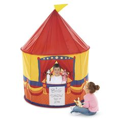 Puppet Show Play Tent