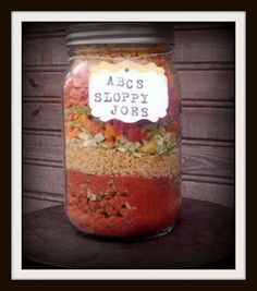 Rainy Day Food Storage: Meals In Jar Recipes (can be modified for hiking meals)
