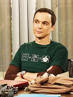 Sheldon looks cute here