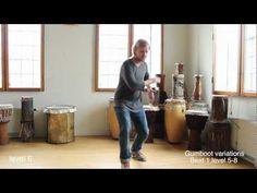 Gumboot Variations beat 1 level 5-8 - YouTube