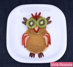 Tasty owl! Summer slumber party followed by homemade breakfast together?!?!