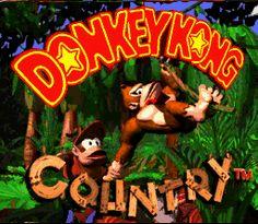 Super Nintendo - Donkey Kong