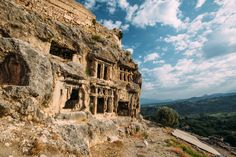 These are the Lycian ruins of Tlos. Settled over 4,000 years ago, Tlos is thought to have been one of the most important religious cities in ancient Lycia.