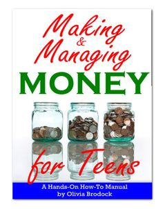 Making & Managing Money for Teens « Homeschool Freebie of the Day