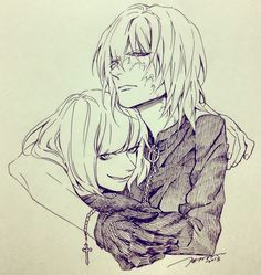 Tags: Death Note, Mello, Mihael Keehl. Loved this <--- This picture took me a moment to process.  I think it's the second one I've seen of Mello with himself.