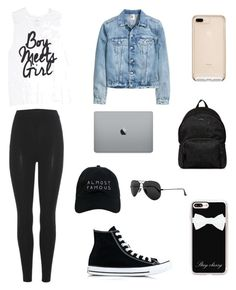 """Untitled #12"" by gheaxhoran ❤ liked on Polyvore featuring adidas Originals, Converse, Casetify, Nasaseasons, Ray-Ban and Hogan"