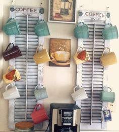 ThriftyKnit: Shabby Chic Coffee Mug Holder
