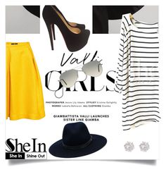 """""""Be You"""" by abbes03 ❤ liked on Polyvore featuring H&M, rag & bone, Ray-Ban, Christian Louboutin, River Island, women's clothing, women, female, woman and misses"""