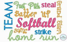 Softball Pictures And Quotes