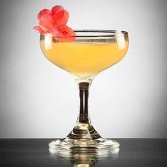 La Fleur de Paradis: Mix up this gin, citrus juice, St-Germain and Champagne cocktail for a taste of paradise.
