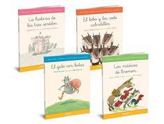 """""""Cuentos clásicos para leer y contar"""", nueva colección para prelectores y primeros lectores, con textos en letra ligada"""