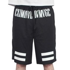 Criminal Damage - Dash Mesh Short Black http://www.urbanlocker.com/produits/22307-dash-mesh-short-black/