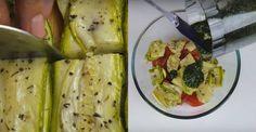 Nezabudnuteľný šalát zcukety, paradajok afeta syru vám prinesie vôňu achute Balkánu amoru priamo do vášho taniera. Pripravte si ľahký obed alebo večeru, ktorá vás nielen zasýti ale aj rozohrá explóziu chutí vo vašich ústach. Budete potrebovať: 350-400 g cukety 350-400 g cherry paradajok 100 g feta syra bazalka podľa chuti 70-80 ml olivového oleja 1