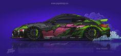 Porsche Cayman 2016 by Yagodesign 2020 1 - Yago Design Cayman Gt4, Crazy Wrap Thing, Car Wrap, Automotive Design, Porsche, Vehicle Wraps, Studio, Signs, Shop Signs