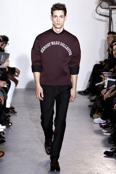 Raf Simons Fall 2011 Menswear Fashion Show