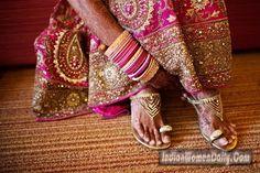 9e584dc664d Bridal Shoes 001 Indian Wedding Bride