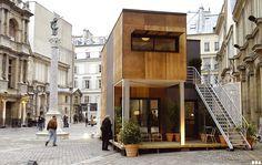 SOA Arquitectos París> Proyectos> PREFABRIC CASA ALGECO