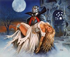 dragon magazine artists | gryphon hill painting by clyde caldwell cover of ravenloft ii the ...