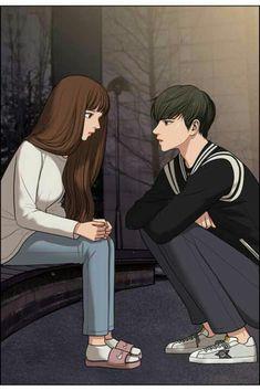 Digital art girl portraits anime 35 ideas for 2019 Cute Couple Drawings, Cute Couple Art, Anime Couples Drawings, Anime Couples Manga, Anime Guys, Cute Couples, Love Cartoon Couple, Anime Love Couple, Tous Les Anime