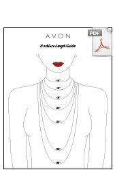 Avon Necklace Fit guide chart #avon #jewelry https://kstagg.avonrepresentative.com/