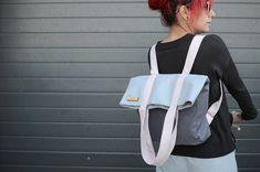 Backpack Travel Bag, Small Backpack, Tote Bag, Summer Bags, Spring Summer, Convertible Backpack, Canvas Handbags, Handmade Bags, Etsy Shop