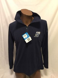 NEW LAS VEGAS LV 51's NEW YORK METS 3/4 Zip Large L/S Women's Columbia Fleece #Columbia #LasVegas51s