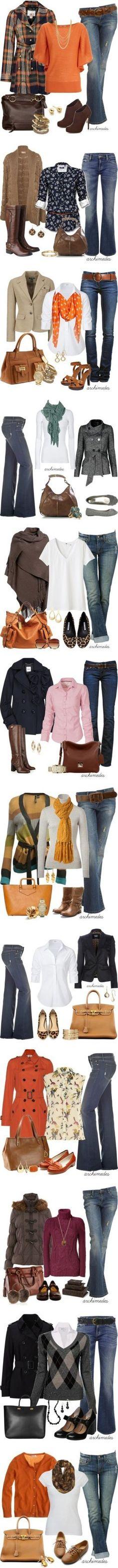 É possível ficar estilosa usando jeans!