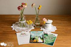Invitaciones de boda campestre Bodas de Cuento the Wedding Designers, por Srta. Edwina. Foto Sara Lázaro,