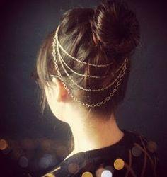 cadenas en el cabeello
