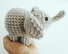 Amigurumi elephant – Crochet free pattern