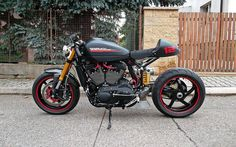 Harley-Davidson XR 1200 X Cafe Racer - HS Choppers #motorcycles #caferacer #motos | caferacerpasion.com