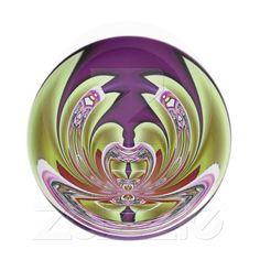 Pink Lotus on Purple Plate