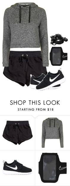 """Untitled #104"" by punkass-unicorn on Polyvore featuring H&M, Topshop, NIKE and Urbanears"