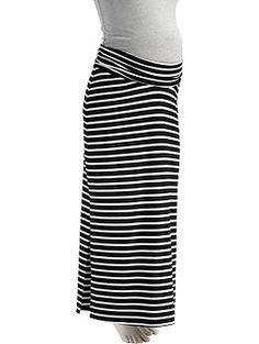 Maternity Striped Maxi Skirts | Old Navy