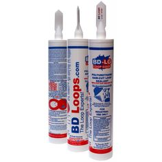 The #case of 12--30 fl. oz. tubes of #Black #Polyurethane #Saw-Cut #Loop #Sealant BDLG-BLACKCASE