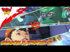 BoBoiBoy TERBARU Season 3 Episode 9: ScamBot vs SampahBot, Pertarungan D...