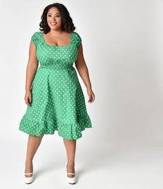 Pinup Couture Ava Swing Dress in Black Taffeta