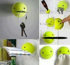 Smart idé för upphängning.