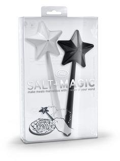 Amazon.com: SALT + MAGIC Salt and Pepper Shakers: Salt And Pepper Shaker Sets: Kitchen & Dining